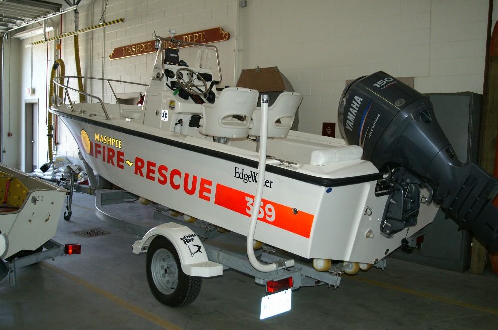 Cape Cod Fire Rescue Boats