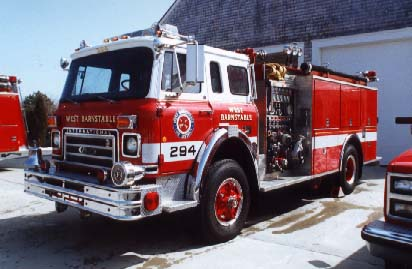 W Barnstable E-294 Retired