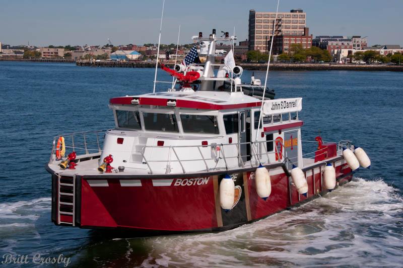 Boston Fire Boats