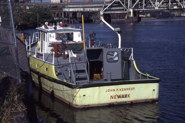 New jersey fire boats for Motor city newark nj