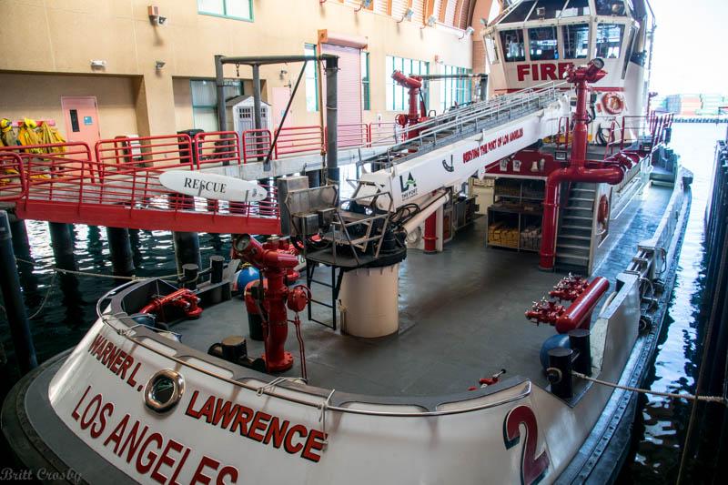 Los Angeles, CA Fireboat 2