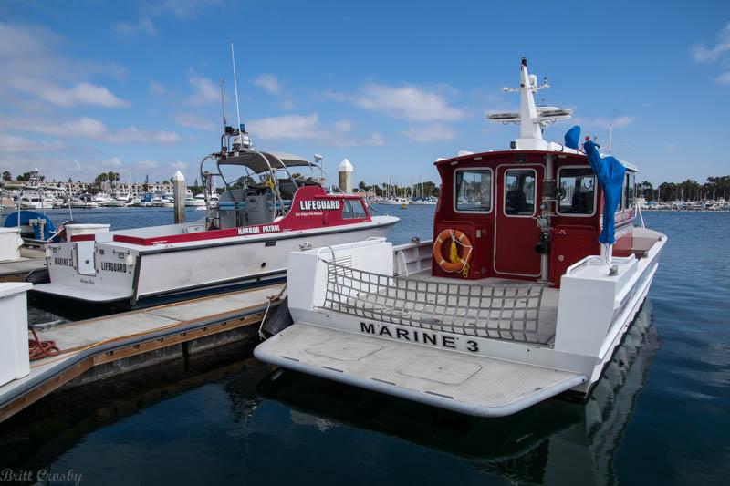 California Fire Boats
