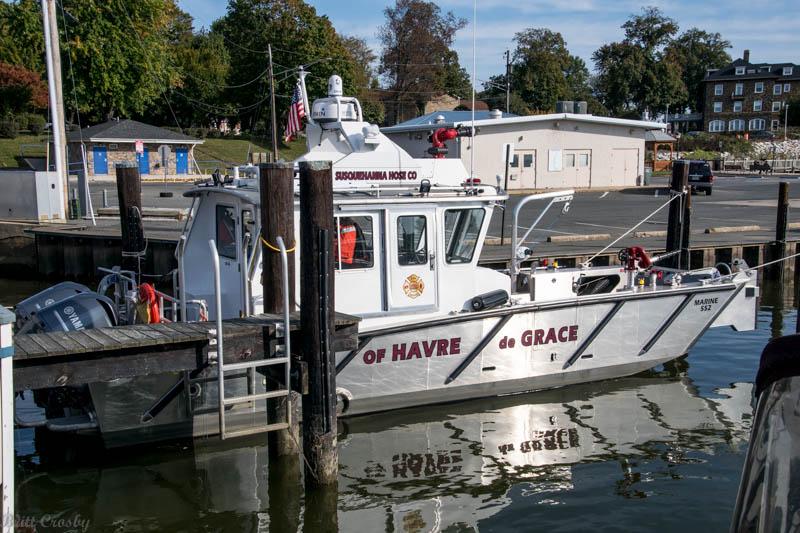 Fireboat Havre deGrace MD