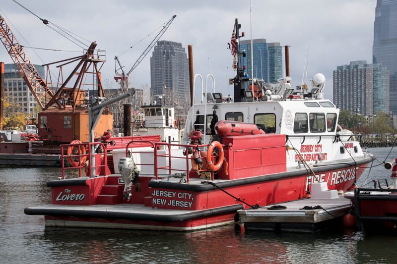 Jersey City Fire Boats