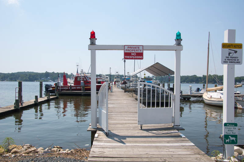 On Bar Harbor Road Riviera Beach Is The South Side Of Patapsco River Leading To Baltimore From Chesapeake Bay