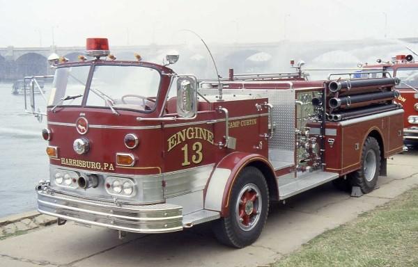 Mack C Model Trucks : Mack fire apparatus