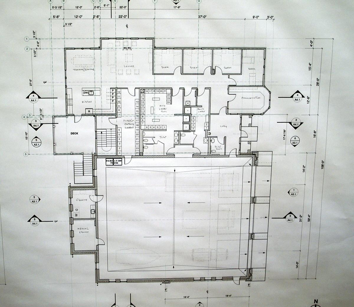 COMM News Firehouse Design Station Floor Plan on ambulance design plan, firehouse floor plans dimensions, firehouse interior design,