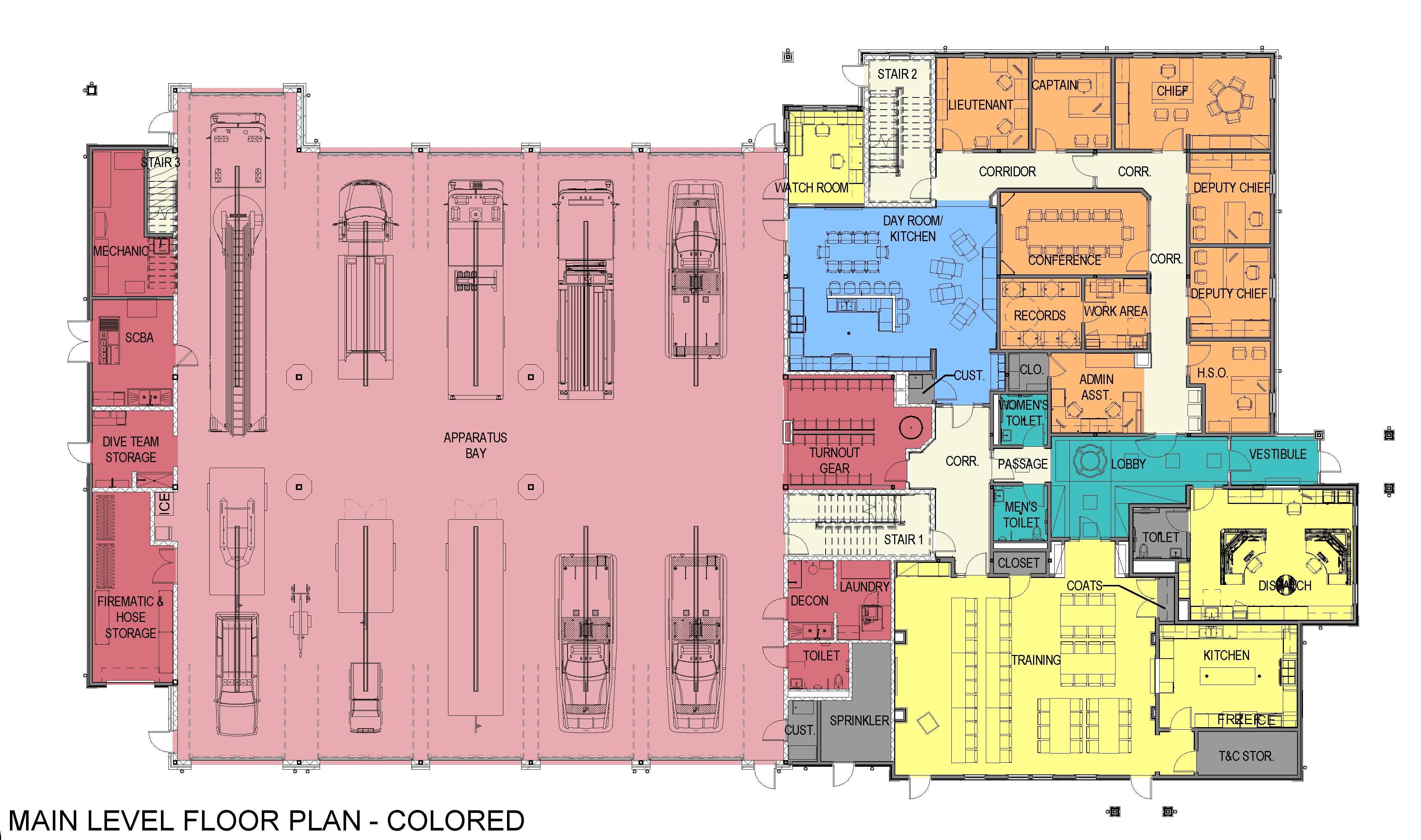 Old firehouse floor plans floor matttroy for Fire plans